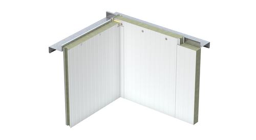 MF Fire Rated Cold Storage Inside Corner Flat Trim