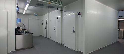 Application de chambre froide modulaire
