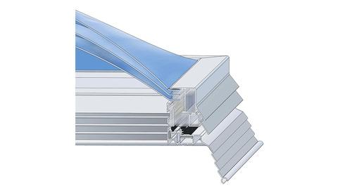 Kingspan_skylight dome plus-system frame_2D_DE