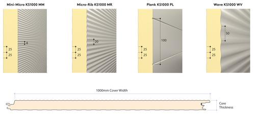 Architectural Wall Panels_Profile Dimensions_PIR_AWP_Aus