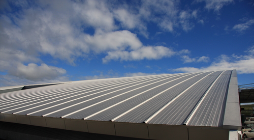 Kingspan Insulated Panel Systems Architectural Wall Panel Micro-Rib Curved Roof YEALANDS ESTATE WINERY NZ Image