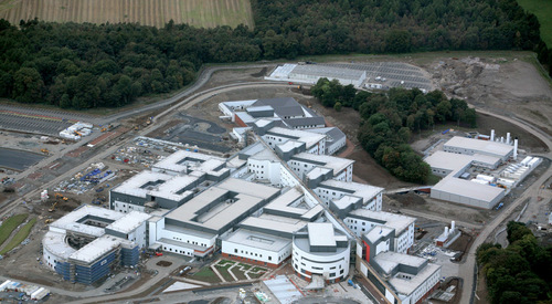 Kingspan Structural Steel Solutions Project - FORTH VALLEY HOSPITAL UK Image