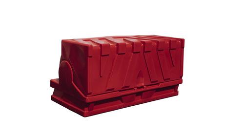 forecourt bunker red