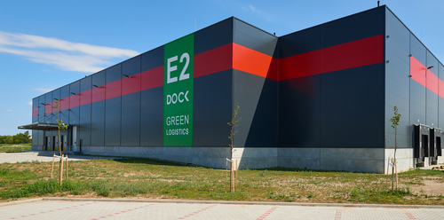 Budapesti Szabadkikötő raktárépületének E2-es részlege