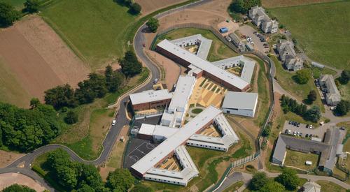 Kingspan Structural Steel Solutions Project - LANGDON HOSPITAL UK Image