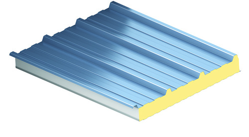 KS1000 RW, trapézový profil, střešní panel, zateplení střechy, izolační panel