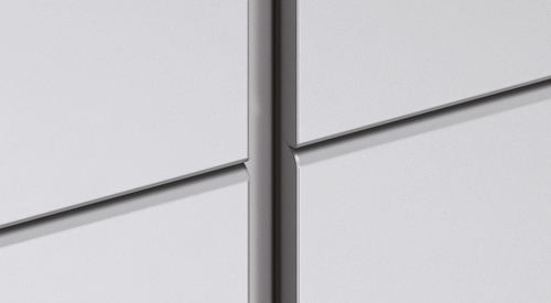 Q2a - 20mm vertical joint with alu profile, 0mm horizontal joint