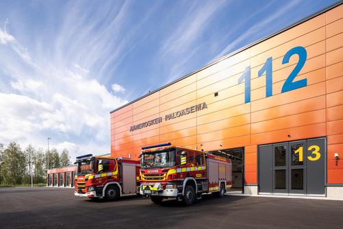 Aanekoski Fire Station