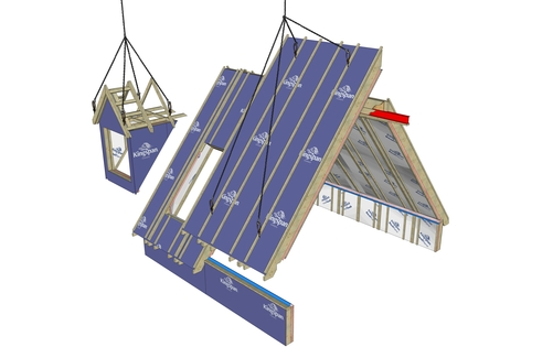 dormer roof graphic
