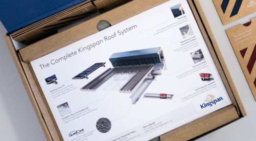Kingspan Insulated Panel Systems Sample Box Image