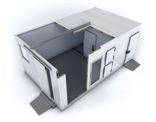 Options infinies avec la chambre froide modulable