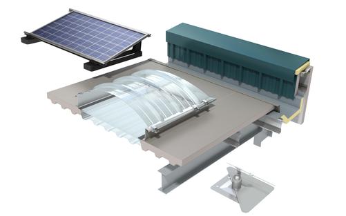 QuadCore Topdek Roof Panel KS1000 TD