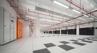 Data centre structural ceiling
