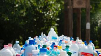Plastic bottles recycling
