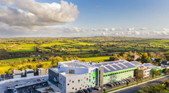 IKON Innovation Centre Aerial Shot
