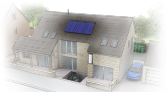 Self-build house sector