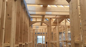 Timber Frame Internal Partitions
