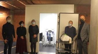 Decontaminatie unit woonzorgcentrum De Gerda