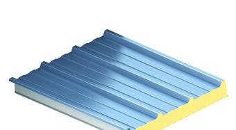 RW tetőpanel renderelt képe