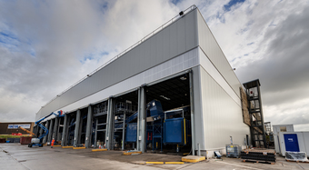 Kingspan Insulated Panel Systems Project SHANKS WASTE MANAGEMENT UK Image