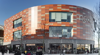 Newport, Great Britain, Karrier System, Rainscreen facade, Suspended Ventilated Facade