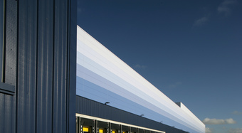 Kingspan Insulated Panel Systems Project WAITROSE GAZELEY RDC UK Image