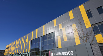Wall Panel Systems on John Bosco