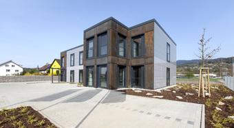 Gaggenaou, Germany, Designwall Inspiration, Rainscreen facade, Suspended Ventilated Facade