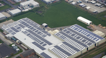 Kingspan Insulated Panel Systems Project KINGSPAN MANUFACTURING FACILITY SELBY UK Image