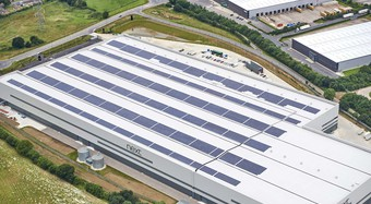Kingspan Insulated Panel Systems Trapezoidal Roof Project - NEXT DISTRIBUTION CENTRE DONCASTER UK Image
