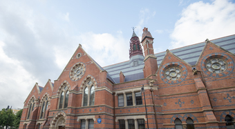 The Lynn Building at Queens University Belfast