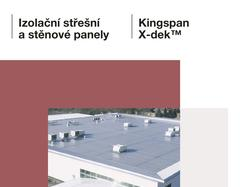 Izolacni stresni a stenove panely_Kingspan X-dek_KS1000 X-dek_CZ