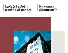 Izolacni stresni a stenove panely_Kingspan Spectrum_CZ