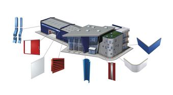 Príslušenstvo pre strešné a stenové izolačné panely