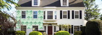House Cutout GreenGuard Extruded Polystyrene (XPS)