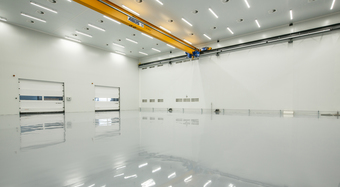Kingspan Controlled Environments Project - SONACA AEROSPACE BE Image
