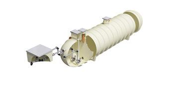 Commercial Pump_ High Capacity Horizontal_2600dia