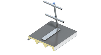 Flat Roof Safety Rails