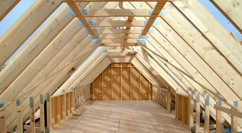 Timber Frame Roof Trusses