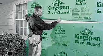 GreenGuard XPS Residing Board