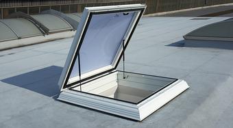 Kingspan roof exit hatch (EDA) type G_skylight dome_safety frame_Image_DE