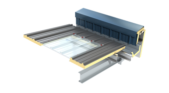 Day-Lite Trapezoidal FAS Rooflight KS1000 DLTR FAS