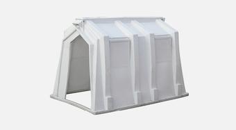 C18.6444 EU Portable Bin Product Shot - Calf Hutch - 500 x 275