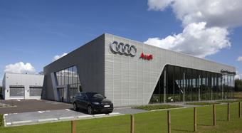 Lanklaar, Belgium, Karrier System, Rainscreen facade, Suspended Ventilated Facade, KS1000 AWP
