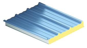 KS1000 RW, strešný izolačný panel, zateplenie strechy