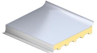 ploché strechy, KS1000 TOP-DEK, strešný izolačný panel, zateplenie strechy