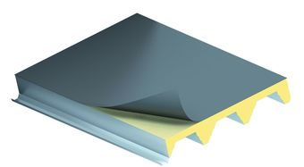 KS1000 X-DEK, strešný izolačný panel, zateplenie strechy