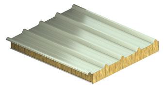 KS1000 FF, strešný izolačný panel, zateplenie strechy, strešný panel, panel s minerálnou vlnou, panely Kingspan