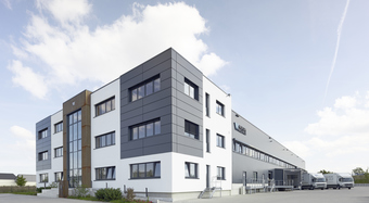 Aschheim, Germany, KS1000 AWP wall panel, BENCHMARK Rainscreen facade and Designwall Inspiration