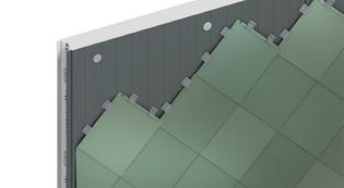 Kingspan Architectural Facades Systems Shingle Rainscreen Facades Image
